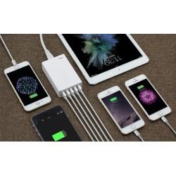 Chargeur USB de bureau pour smartphones et tablettes