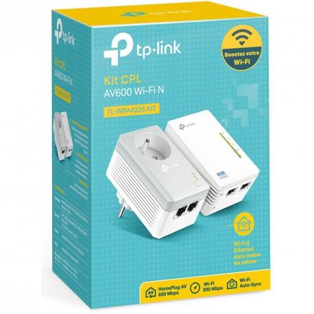Kit CPL AV600 + WiFi N300