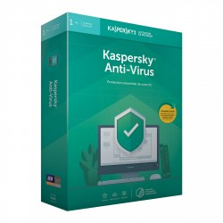 Kaspersky Antivirus 2019 1PC - 1 an