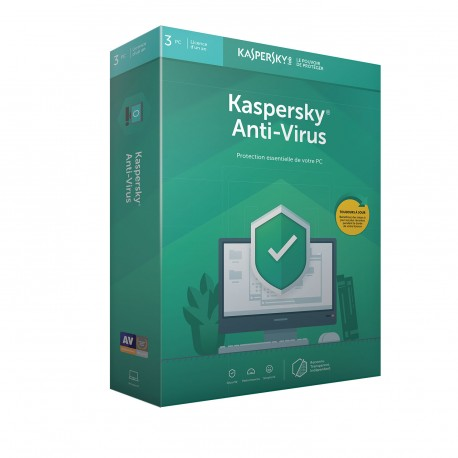 Kaspersky Antivirus 2019 3PC - 1 an
