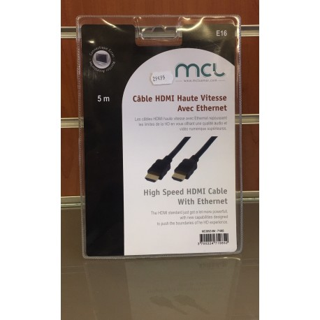 Cordon HDMI M/M 5m